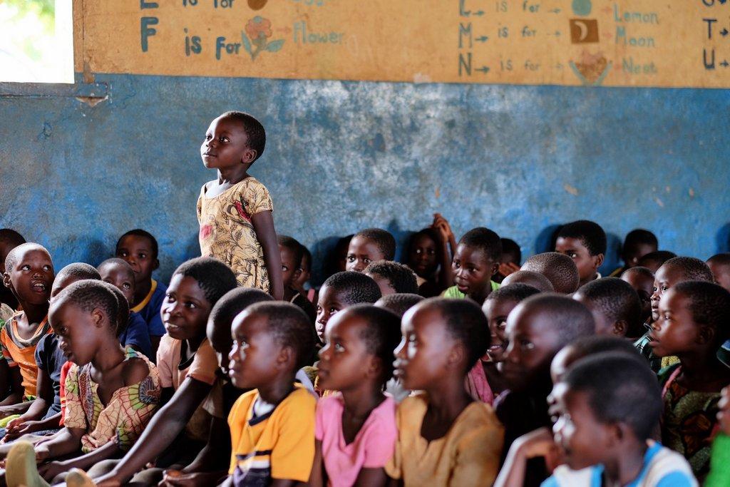 Photo of African schoolchildren