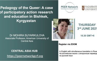 Pedagogy of the Queer: A case of participatory action research and education in Bishkek, Kyrgyzstan – Online Seminar 3rd June