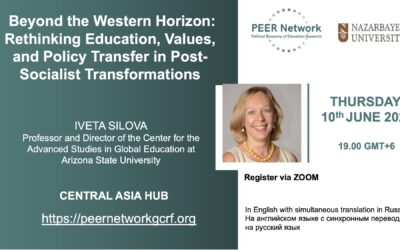 Beyond the Western Horizon: Rethinking Education, Values, and Policy Transfer in Post-Socialist Transformations – Online Seminar 10th June