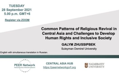 Common Patterns of Religious Revival in Central Asia and Challenges to Develop Human Rights and Inclusive Society