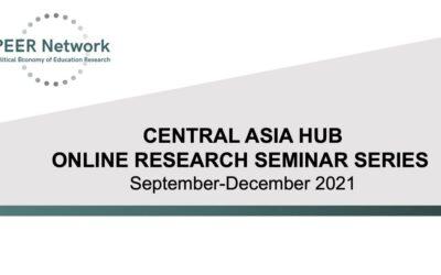 Online seminars Central Asia Hub September-December 2021