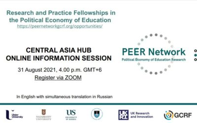 Interested in conducting research in the field of political economy of education? Join our information session announcing fellowships!